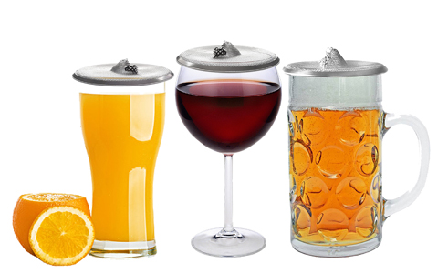 GlassTopper | Wine Glass Cover | Elegant Protection for Any Drinking Container