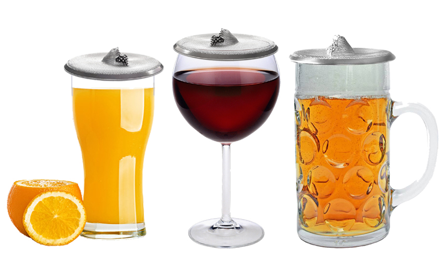 wine glass cover, glass topper bug stopper, perfect protection against insects and debris
