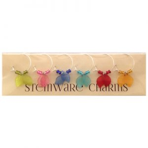 Stemware Charms: Leaves